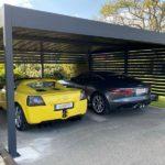 Carport double alu