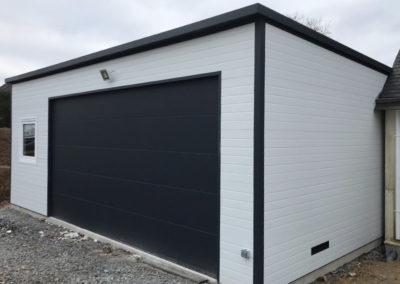 GardenKuB garage design préfabriqué isolé sur mesure sans entretien