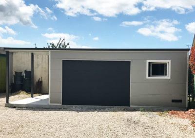 GardenKuB garage carport préfabriqué isolé sur mesure design