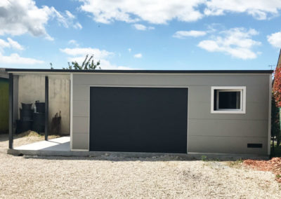 Garage 6.00x6.00m + carport 2.00x6.00 m Bretagne Morbihan