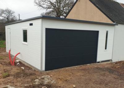 Garage isolé sur mesure sans entretien Morbihan Finistère Côtes d'Armor Ille et Vilaine Loire Atlantique